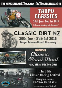 New Zealand Classic Bike Festival 2015