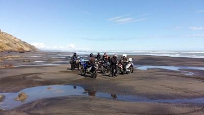 Karioitahi Beach regroup
