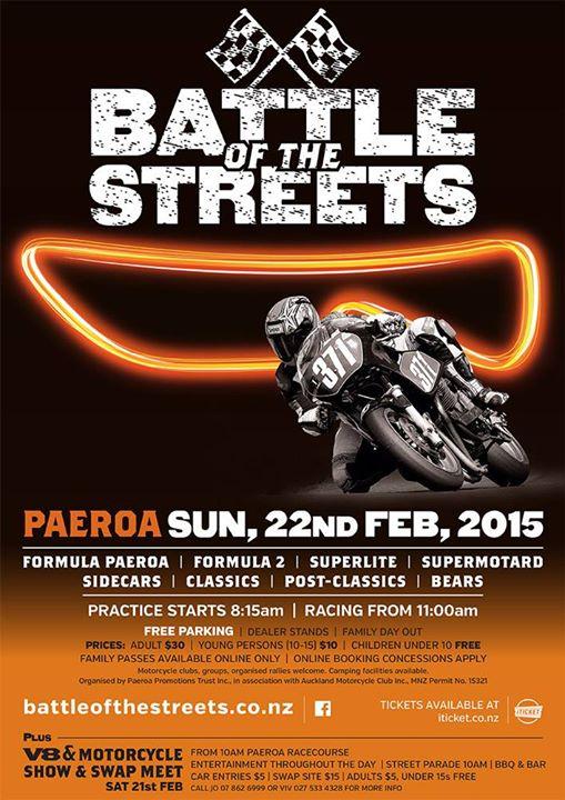 Paeroa Battle Of The Streets 2015