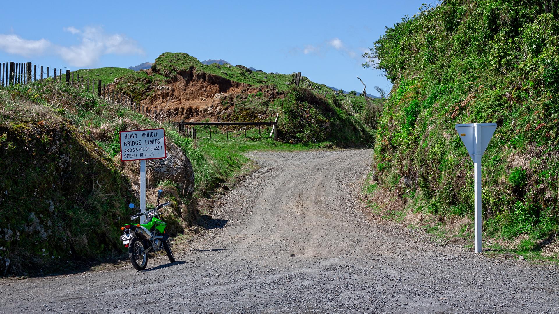Upper Parihaka Road