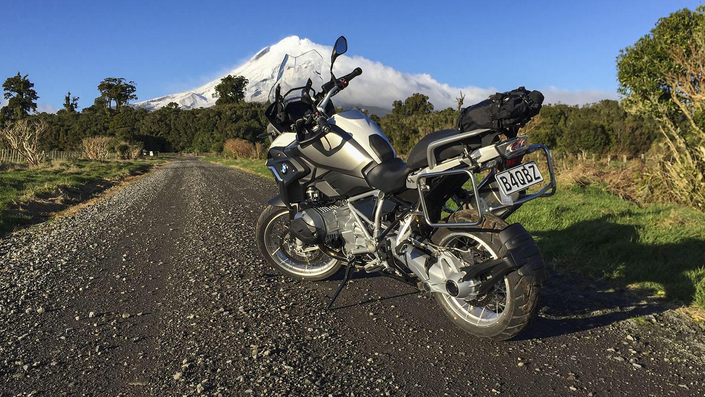 Mount Taranaki from Kahui Road
