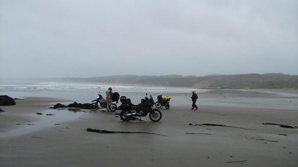 A wet 90 Mile Beach, Still fun