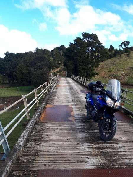 A bridge on Ararua Road
