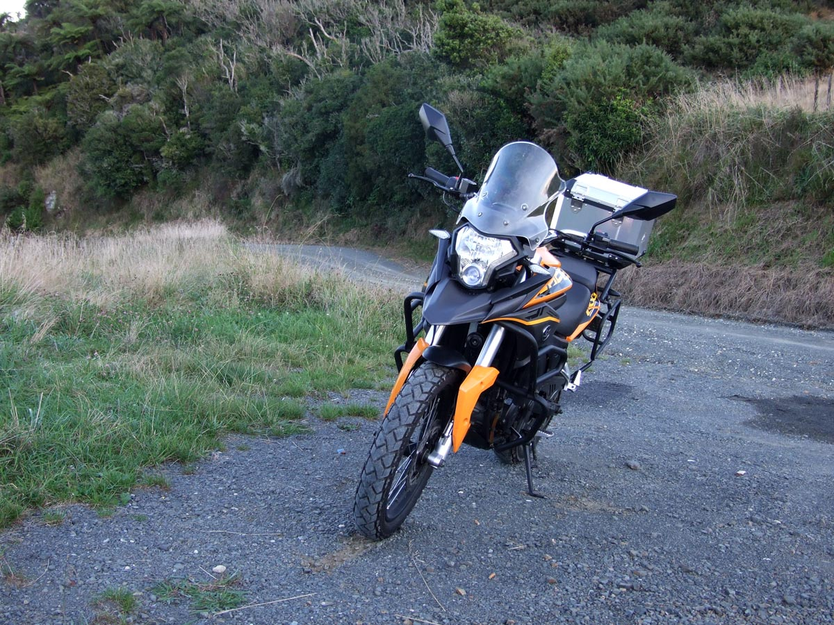Topic: Adventure Riding NZ rides and reviews the Zongshen
