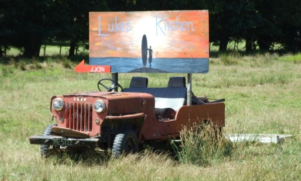 An old Jeep by the turnoff from SH25 to Black Jack Road