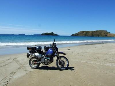 On Opito Bay Beach