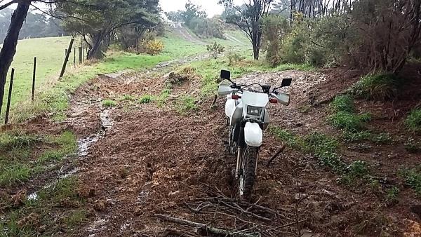 Mud on Chatham Road