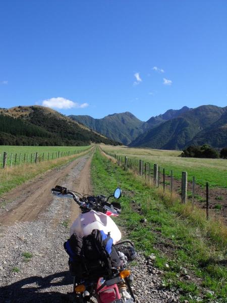 Initial farm track
