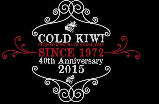 ColdKiwi-40thlogo