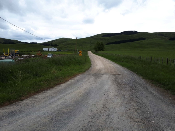 The beginning of Coonoor Road
