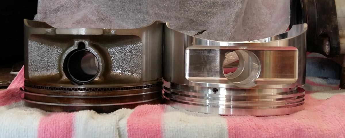 Topic: DR650 High Compression Piston – Brand new
