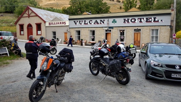 The famous Vulcan hotel in St Bathans
