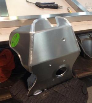 GP Custom DRZ400 Bashplate