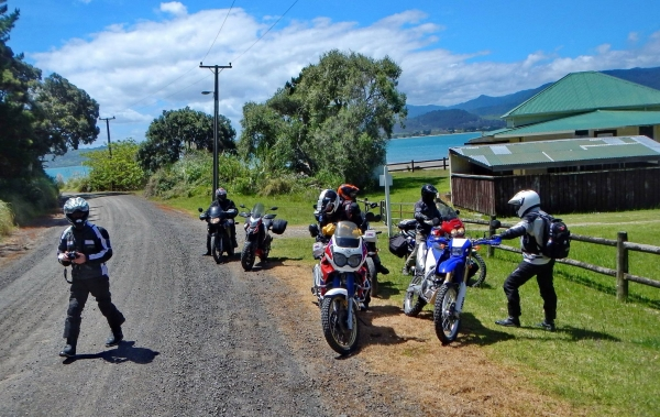 Rest stop on Rangi Point Road