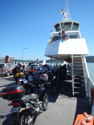 The Rawene to Kohukohu ferry.