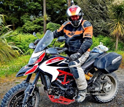 My Hypermotard had passed all its tests and given me a lot of chuckles along the way.