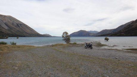 The top of Lake Coleridge