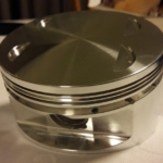 JE Pistons DR650 High Compression piston, a work of art