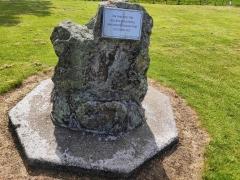 Memorial on Jolllies Pass