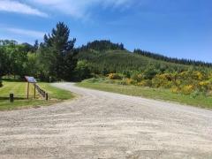 The bottom of Jollies Pass