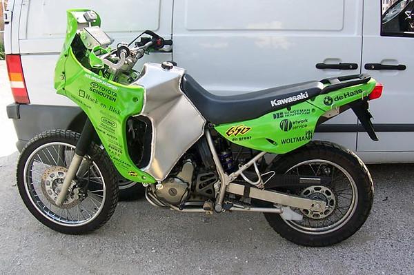 Topic: Kawasaki KLR650 Dakar bike | | Adventure Riding NZ