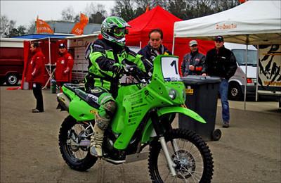 Klr Dakar on Kawasaki Kl650