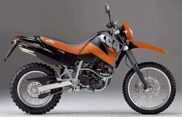 KTM 640 Enduro LC4