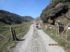 On the way to Kahurangi Point Lighthouse