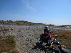 At roads end near Kahurangi Point Lighthouse