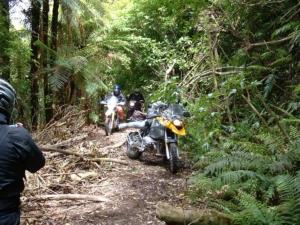 Riders make their way through Makairo track