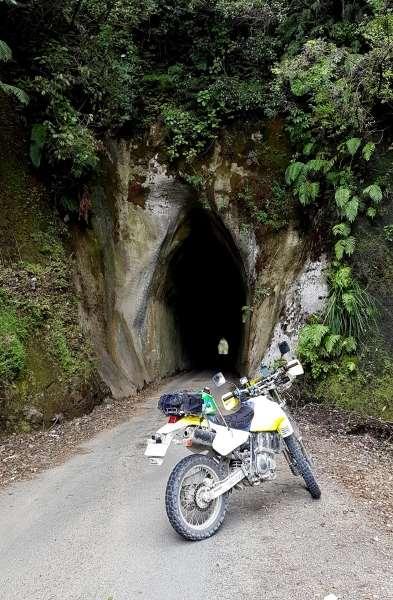 A tunnel on Mangaoapa Road