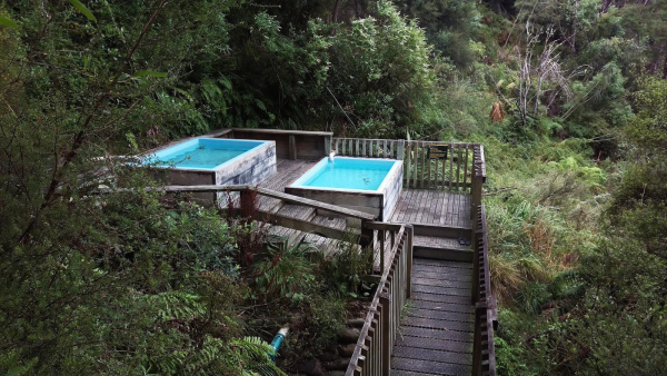The Mangatutu Hot Springs