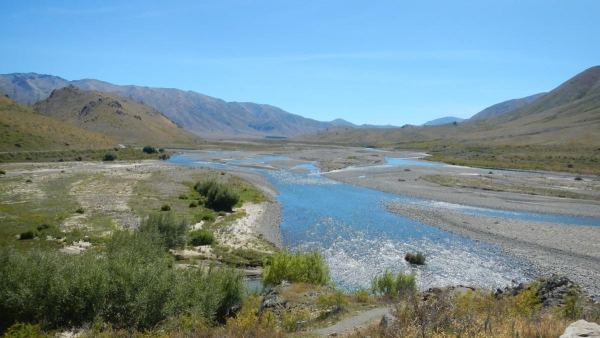 A nice spot for lunch on the Molesworth