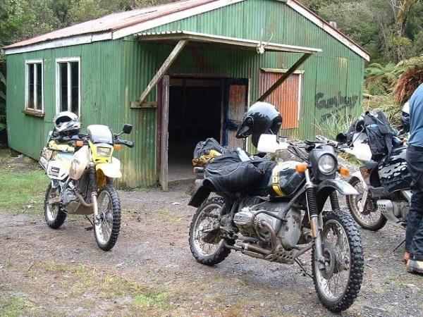 Maungatauru Hut on Odlins Road