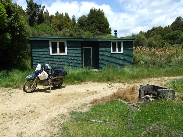 The Back Country hut on Owawenga Road