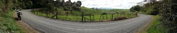Nice views of rolling Waikato countryside from Piakonui Road