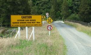 Pomerangai Road, fun roads ahead!