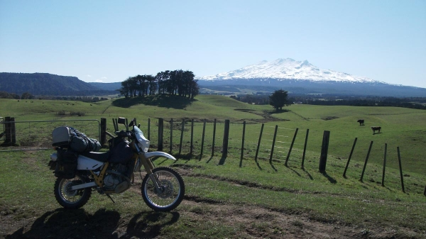 Mt Ruapehu from Ratamaire Road