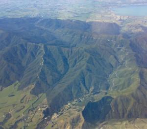 Aerial Shot of the Rimutaka HIll