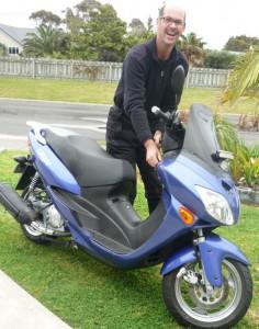 Scott Livingston Lifan 250 Scooter