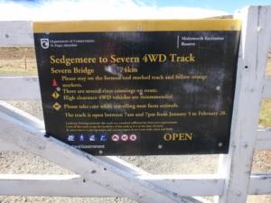 Severn Sedgemere Doc Instructions