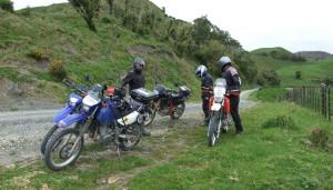 Regroup on Hauturu Road