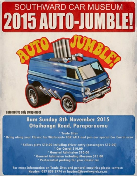 Southwards Autojumble 2015