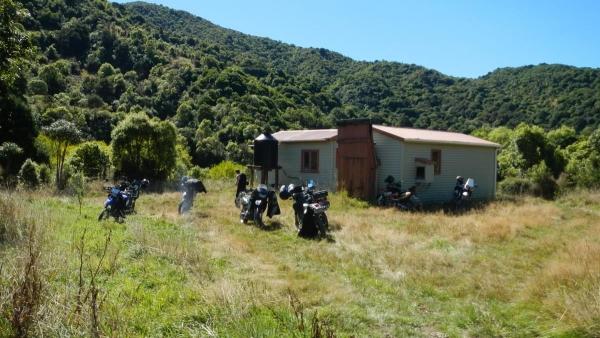 Bikes at Sutherlands Hut