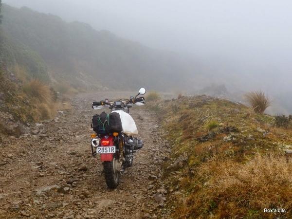 Takapari Road gets pretty rough in places