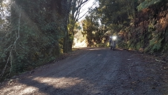 Smooth gravel on Takiri Road