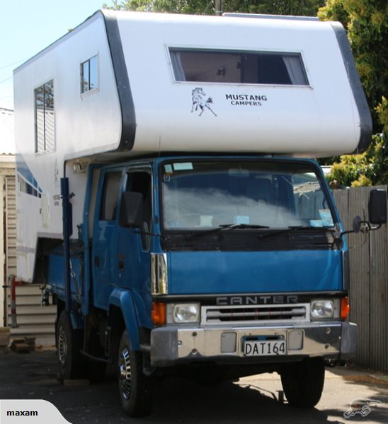 Fuso 4x4 Camper For Sale | Autos Post