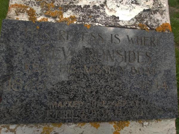 Memorial on Tumbledown Bay Road