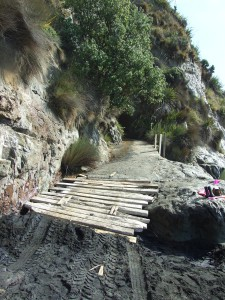 Waikawau Road beach ramp