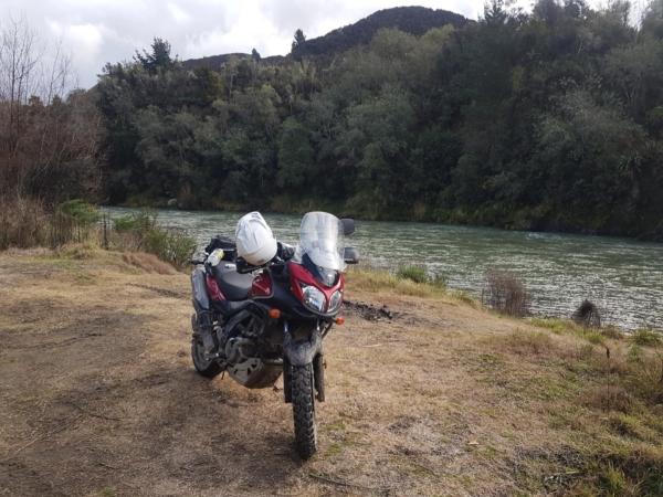 Picnic stop at the Mohaka River